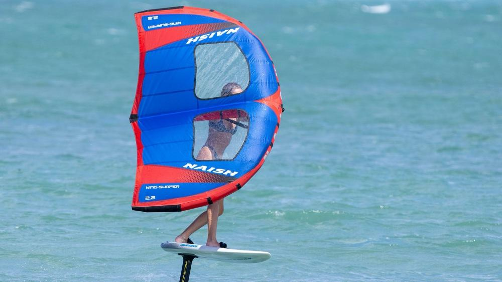 Naish S26 WING Surfer in Action